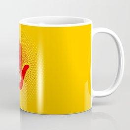 Hand and eye Coffee Mug
