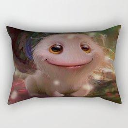 What a little monster Rectangular Pillow