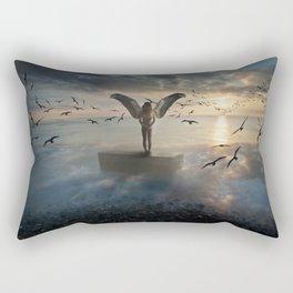 Birds of freedom Rectangular Pillow