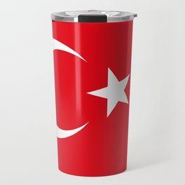 National flag of Turkey, Authentic color & scale Travel Mug