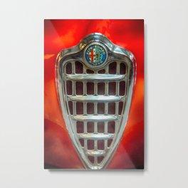 Alfa Romeo Emblem Metal Print