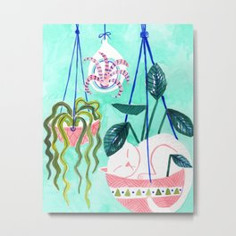Hanging Gardens Metal Print