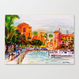 The Vinoy Hotel St. Pete Florida Canvas Print