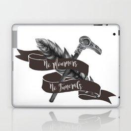 No Mourners No Funerals Laptop & iPad Skin
