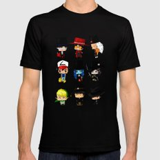 Anime Hatters LARGE Mens Fitted Tee Black