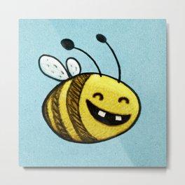 Bee 2 Metal Print