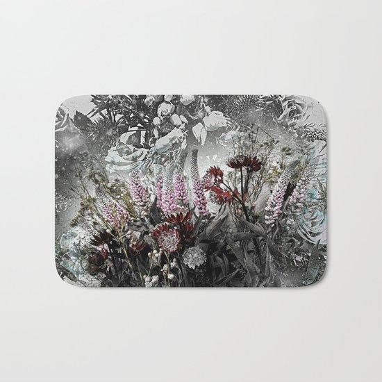 Fantasy Floral Bath Mat