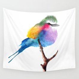 The Lilac-breasted Roller Wall Tapestry