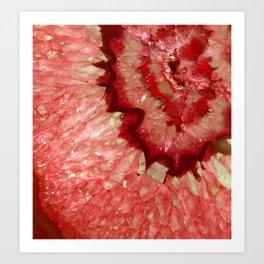 Cherry Crystal Art Print