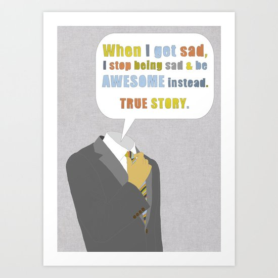 LEGEN____waitforit____DARY Art Print