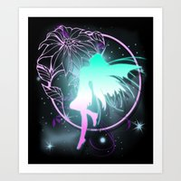 fairy Art Prints featuring Fairy by Augustinet