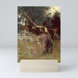"John Singer Sargent ""A Capriote"" Mini Art Print"