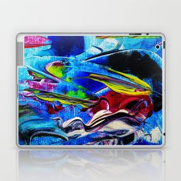 Abstract in acrylic Laptop & iPad Skin