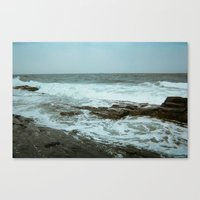 maine Canvas Prints featuring Maine by RetiredRager