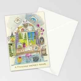 Folktale Writer's Nook Stationery Cards