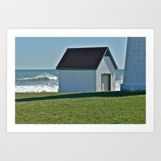 Point Judith after the Storm © Art Print
