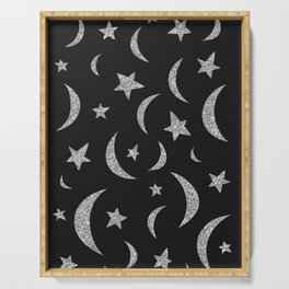 Moon and Stars Serving Tray