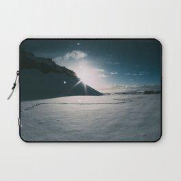 Sunshine behind the Mountain Laptop Sleeve