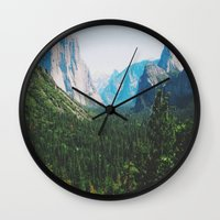 narnia Wall Clocks featuring Pseudo Narnia by floramingo