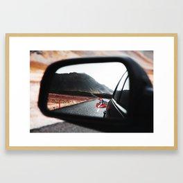 Mario Kart IRL Framed Art Print