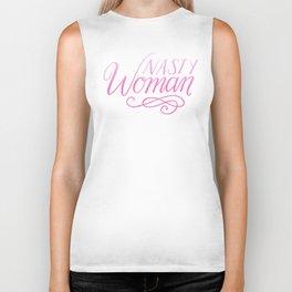 Nasty Woman - pink ombré Biker Tank