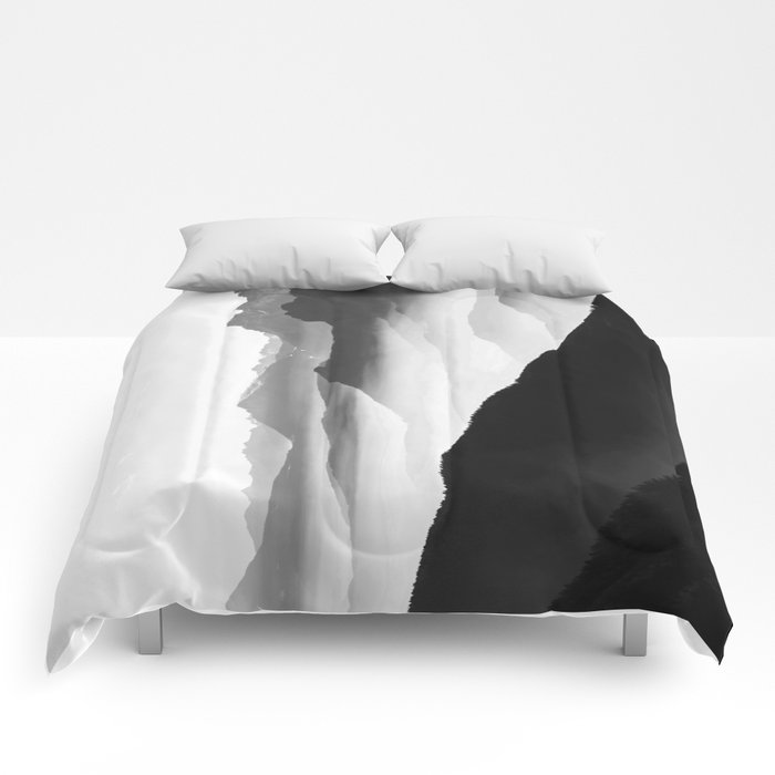creamy mountains comforters