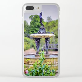 Diana The Huntress, Hyde Park, London Clear iPhone Case