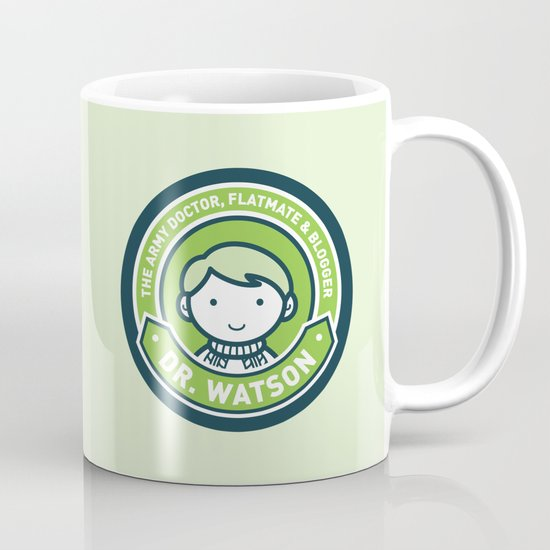 Cute John Watson - Green Coffee Mug