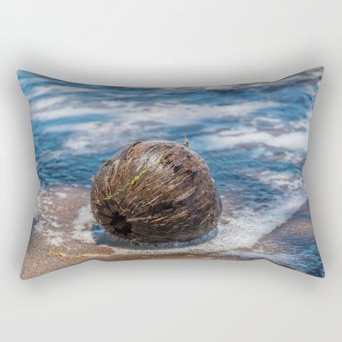 Coconut in Sea-foam III Rectangular Pillow