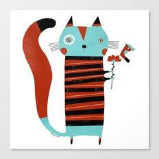 STRIPED SHIRT Canvas Print
