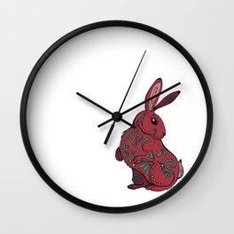 Decorative Rabbit Wall Clock