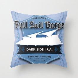 Full Sail Barge Ale Throw Pillow