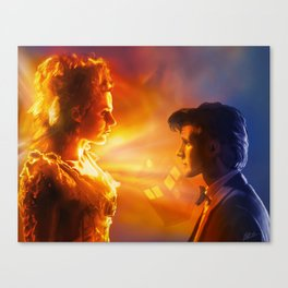 The Doctor's Wife Canvas Print