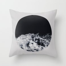 Ocean Moon #society6 #decor #buyart Throw Pillow