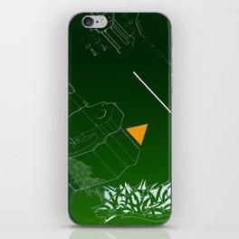 Green Wave iPhone Skin