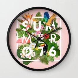 SUMMER of 76 Wall Clock