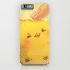 Scritch, a little yellow bird iPhone 6s Slim Case