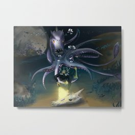The Depths of the Ocean Metal Print