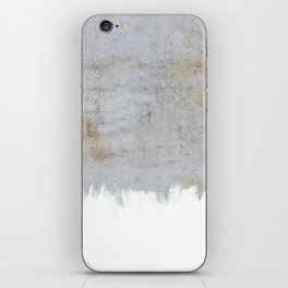Painting on Raw Concrete iPhone Skin