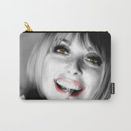 Sharon Tate Large Size Portrait Carry-All Pouch