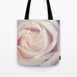 An Offering White Rose Tote Bag