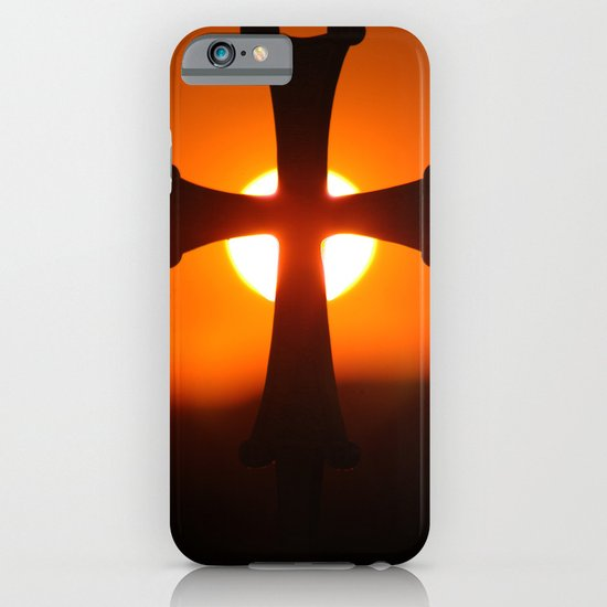 Sunset Cross iPhone & iPod Case