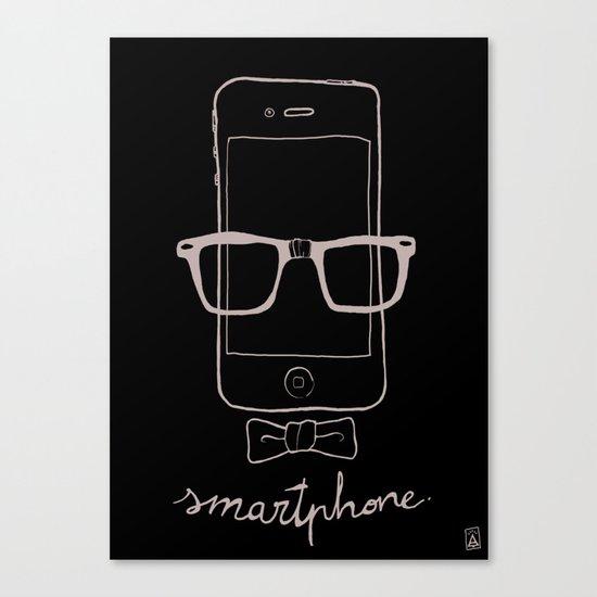 Smartphone Canvas Print
