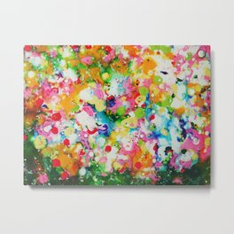 Full abstract Metal Print