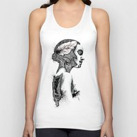 black swan Tank Tops featuring Swan by JsR_OtR