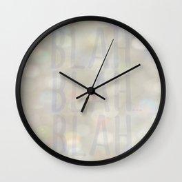 Blah... Wall Clock