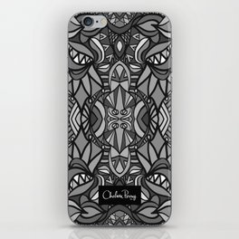 Roller Coaster Black and White iPhone Skin