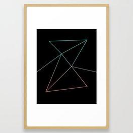 Paper Airplanes Framed Art Print