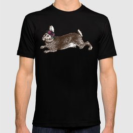 The Rabbit and Roses T-shirt
