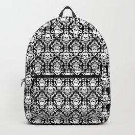 Skull Damask Backpack